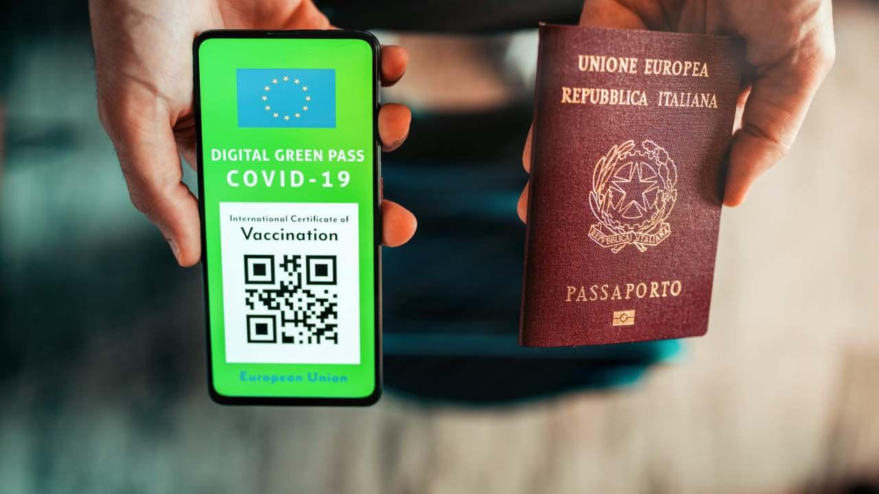 green pass (web source)