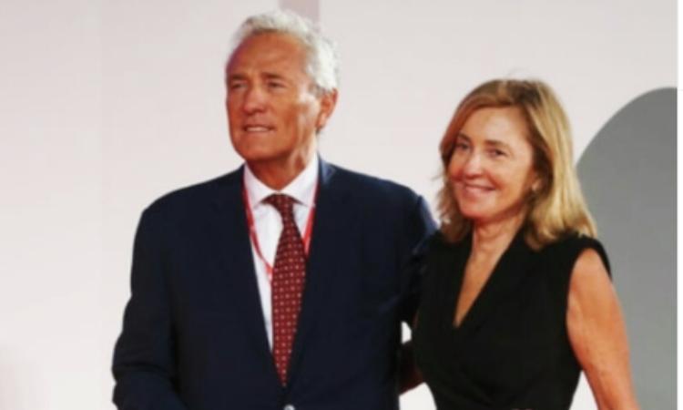 Barbara Palombelli e Francesco Rutell